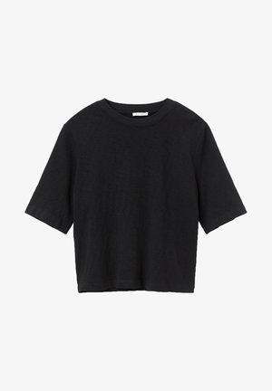 3/4 SLEEVE - Basic T-shirt - black