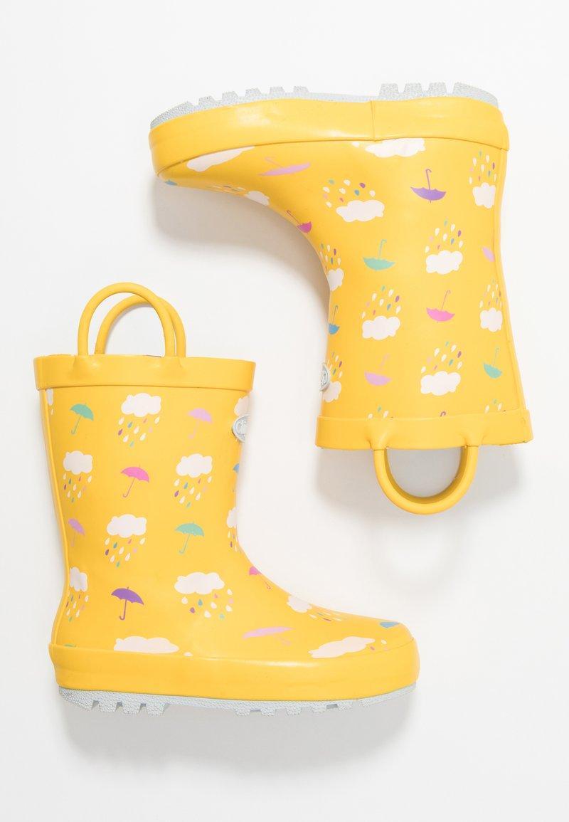 Chipmunks - RAIN - Wellies - yellow