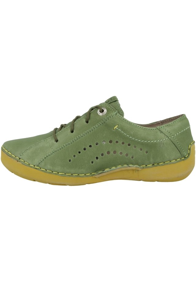 FERGEY  - Chaussures à lacets - green