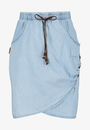 LUCYAK DNM - Denim skirt - light denim