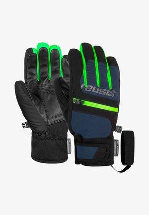 Gloves -  blck/dres blue/neon green