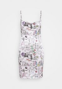 NEW girl ORDER - SCRIBBLE DRESS - Cocktail dress / Party dress - pink - 4