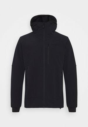 LOFOTEN HOOD - Ski jas - black