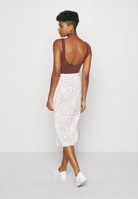 4th & Reckless - CAMDEN SKIRT - Pencil skirt - beige - 2