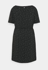 Ragwear Plus - PELIADA ORGANIC - Žerzejové šaty - black - 1