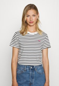 Levi's® - PERFECT TEE - Print T-shirt - benitoite/cloud dancer - 0