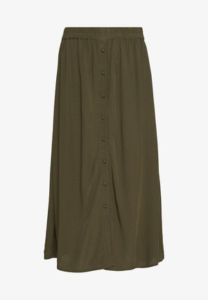 VMGAEL CALF - Áčková sukně - ivy green
