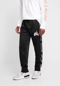 Jordan - TRICOT WARMUP PANT - Træningsbukser - black - 0