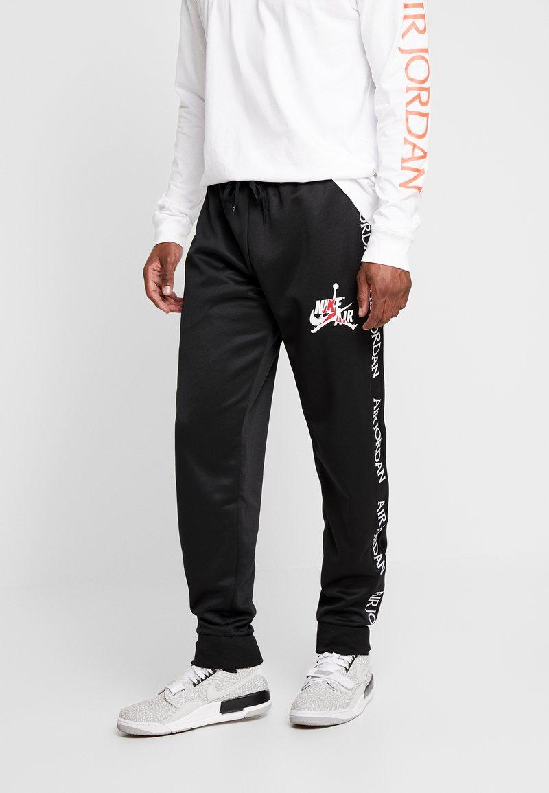 Jordan - TRICOT WARMUP PANT - Træningsbukser - black