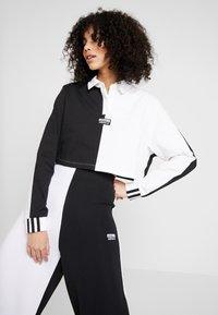 adidas Originals - Topper langermet - black/white - 0