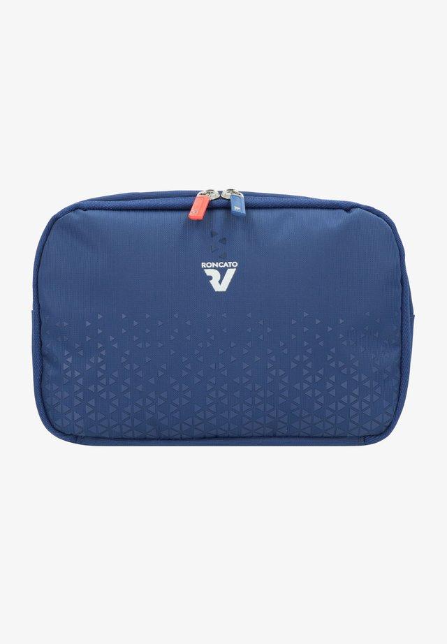CROSSLITE - Wash bag - blu
