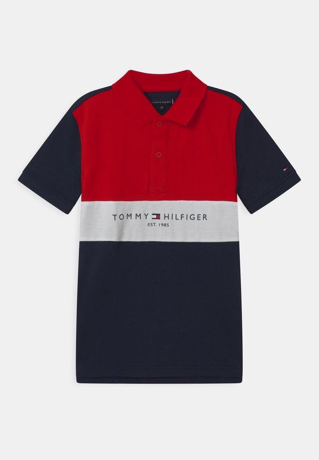 COLORBLOCK - Poloshirt - blue