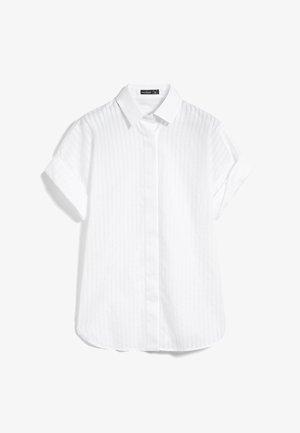 M-POESIE - Button-down blouse - weiß