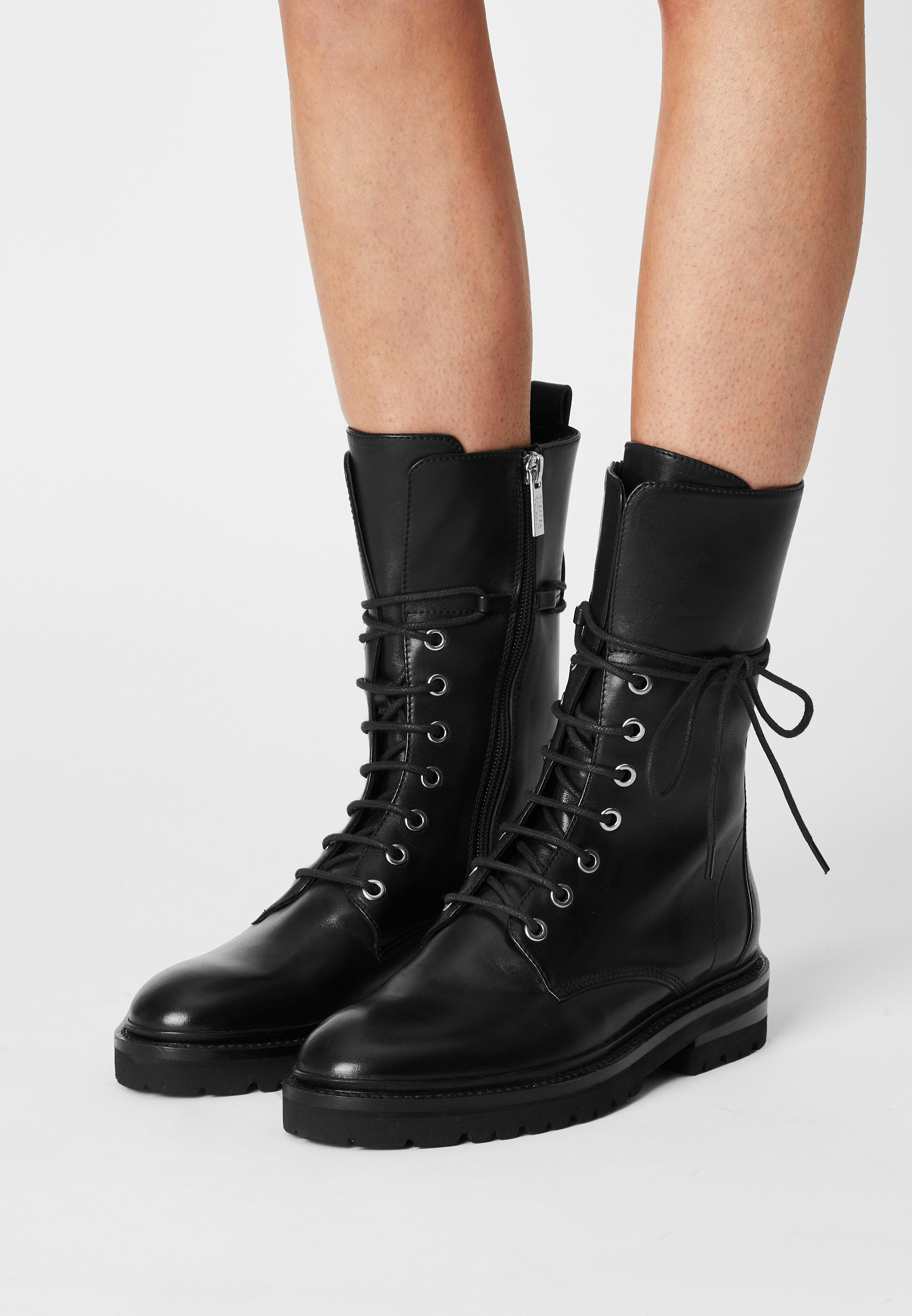 Women CHAIN ROAD - Lace-up boots
