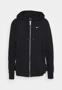 Nike Performance - DRY GET FIT - Sudadera con cremallera - black/white - 0