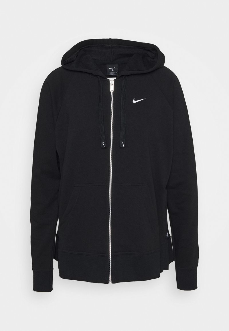 Nike Performance - DRY GET FIT - Sudadera con cremallera - black/white