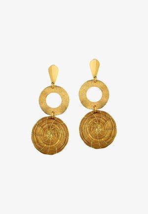 ANGELA - Earrings - gold-coloured