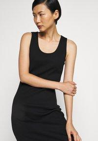 Holzweiler - HIDRA DRESS - Jersey dress - black - 4