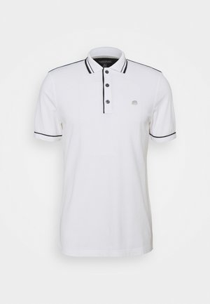 TIPPED - Polo shirt - white