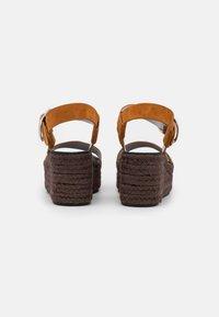 rag & bone - ANSLEY BUCKLE  - Sandály na platformě - cognac - 3
