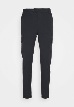 COMO PANTS - Cargo trousers - dark navy