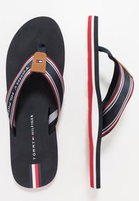 Tommy Hilfiger - LOGO TAPE BEACH  - Infradito - blue - 1
