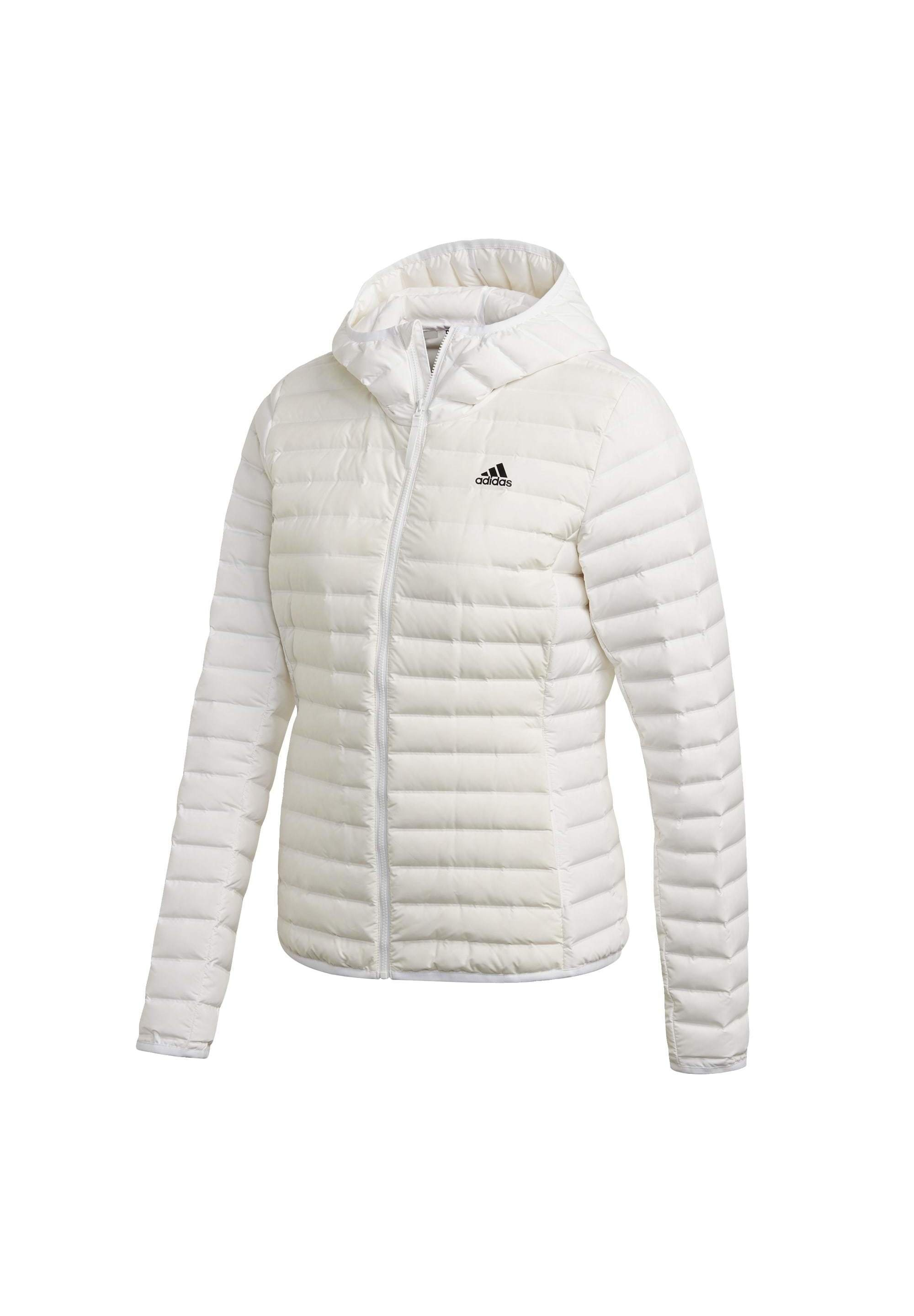 Fashionable Women's Clothing adidas Performance VARILITE SOFT HOODED  Soft shell jacket white LaNUfxwoe