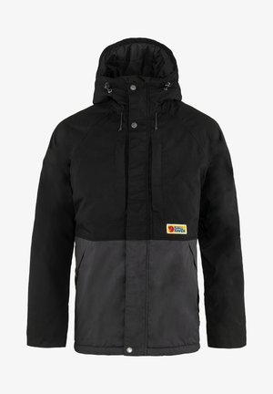 Winter jacket - black dark grey