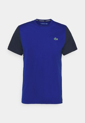 TENNIS - T-shirt z nadrukiem - cosmic/navy blue