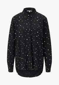TOM TAILOR DENIM - Camisa - black/white - 3