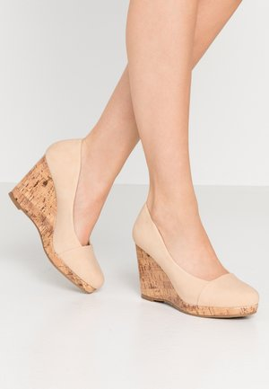 CAROLINA - Høye hæler - natural