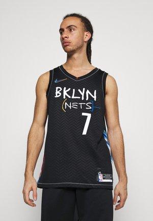 NBA BROOKLYN NETS CITY EDITION SWINGMAN JERSEY - Club wear - black