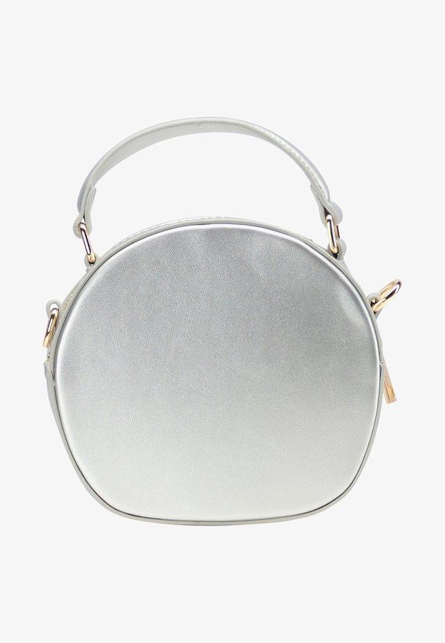 Handtas - silver metallic