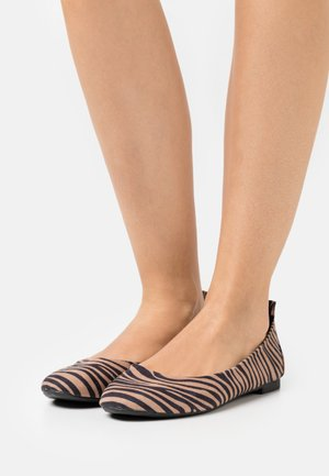 Ballet pumps - brown