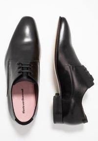 Floris van Bommel - Smart lace-ups - black - 1
