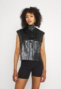 Missguided - GILET - Waistcoat - black - 0