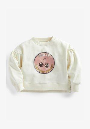 CHERRY  - Sweatshirt - off-white