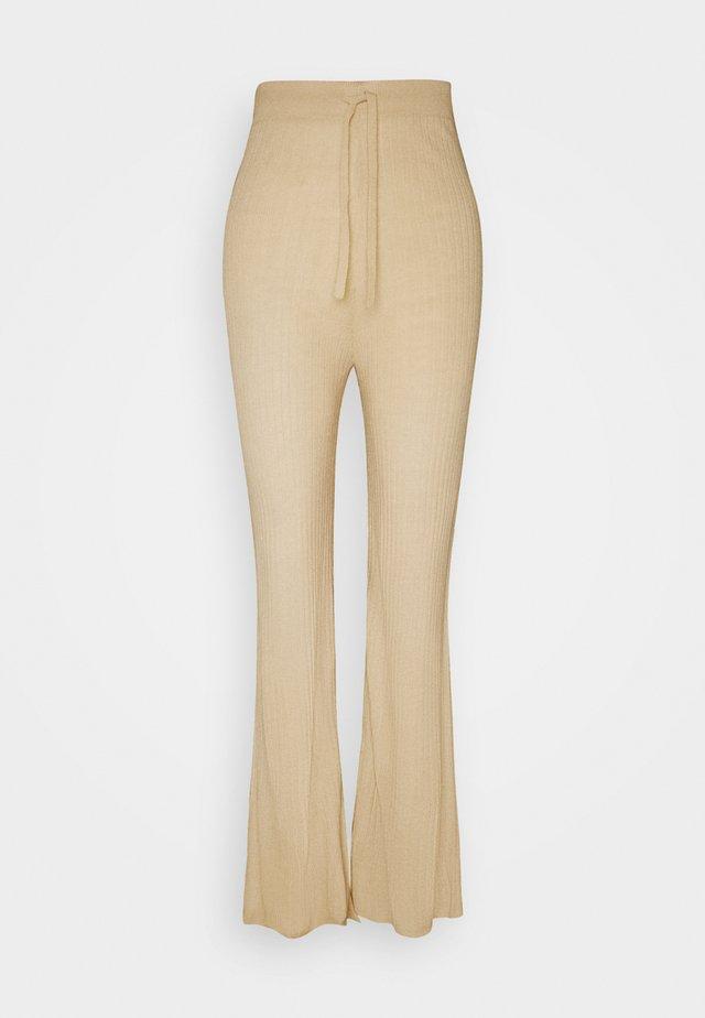 LOVELY PANTS - Bukse - beige