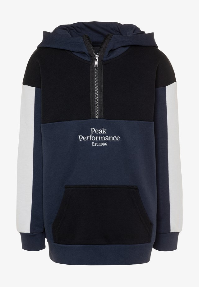 JR ORIGINAL BLOCKEDANORAK - Hoodie - blue shadow