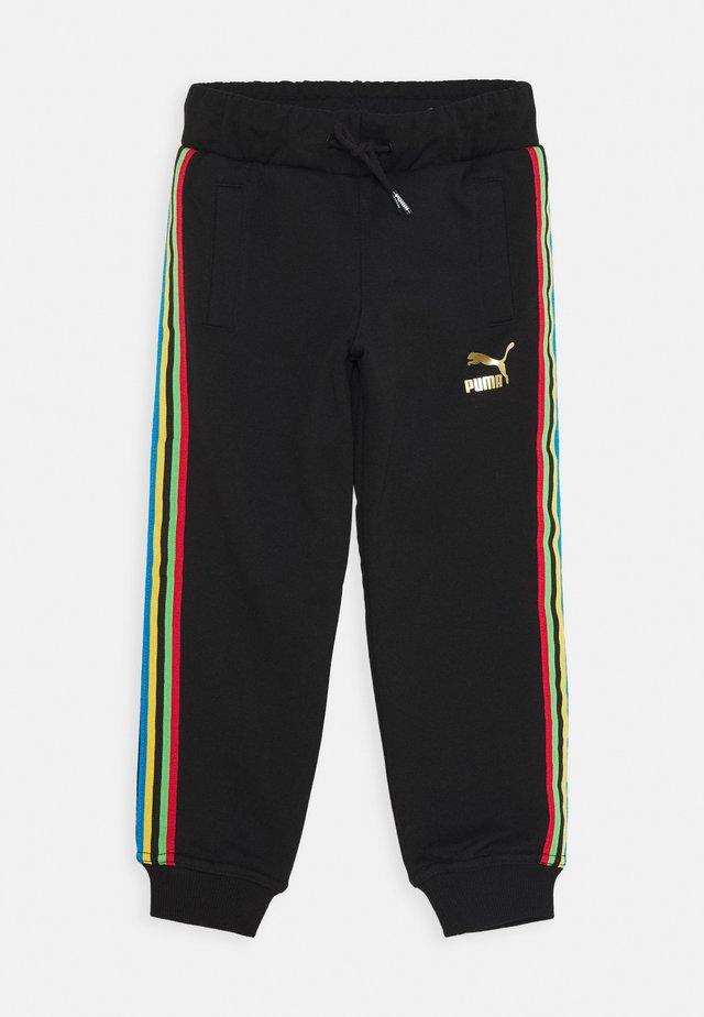 WORLDHOOD TRACK PANTS  - Teplákové kalhoty - black