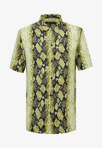 Jaded London - YELLOW SNAKESKIN SHIRT - Shirt - yellow - 3