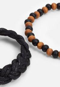 ALDO - JOASH 4 PACK - Bracelet - brown/black - 2