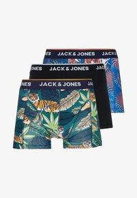 Jack & Jones - JACLIONS TRUNKS 3 PACK - Boxerky - black/navy blazer/maritime blue - 3