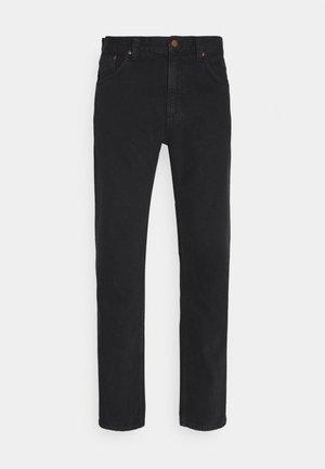 GRITTY JACKSON - Jeans Straight Leg - black denim