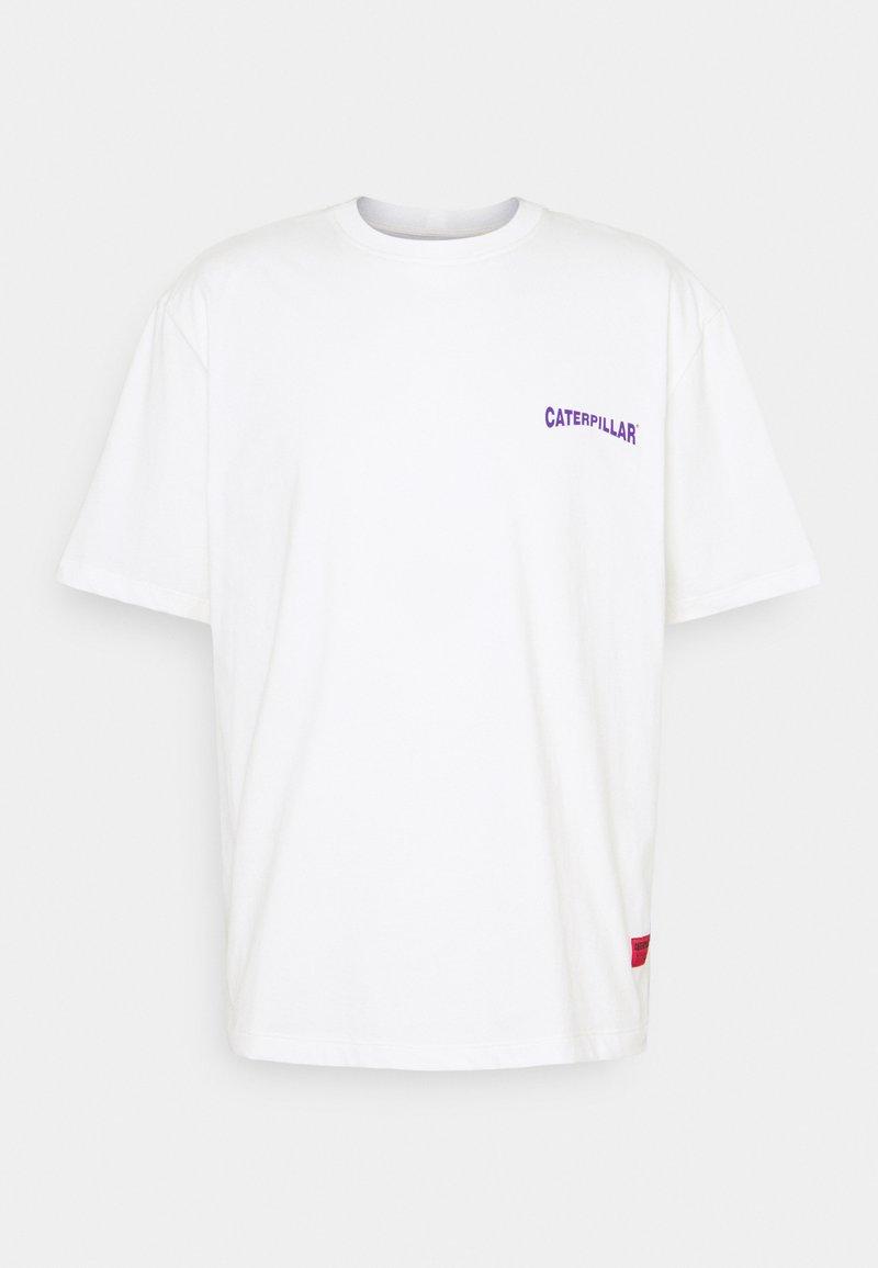 Caterpillar - SNOW GRAPHIC - T-shirt con stampa - cream