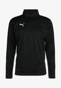 Puma - LIGA TRAINING ZIP - T-shirt de sport - black/white - 5