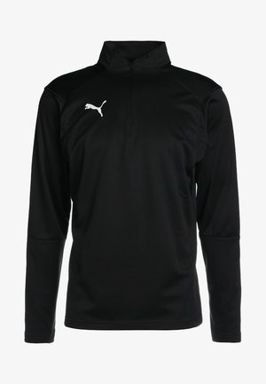 LIGA TRAINING ZIP - Funktionsshirt - black/white