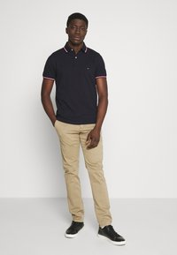 Tommy Hilfiger - TIPPED SLIM FIT - Polo shirt - blue - 1