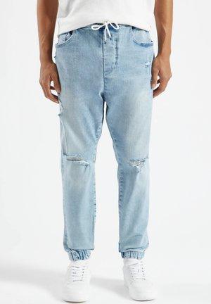 Teplákové kalhoty - blue-grey