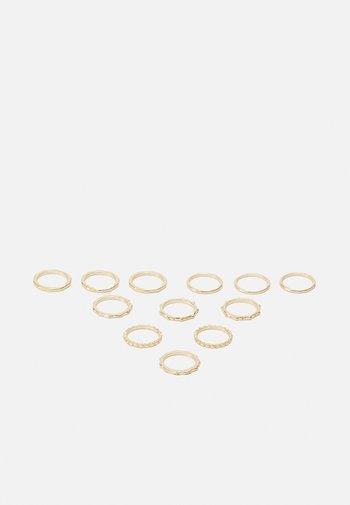 BELLI 12 PACK - Pierścionek - gold-coloured